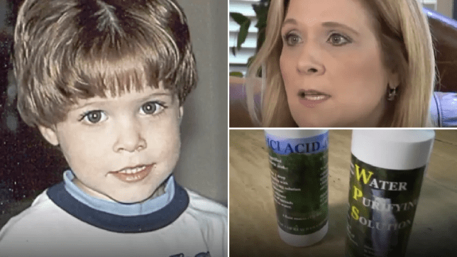 Mum slammed for trying to soothe sons' autism with corrosive liquid