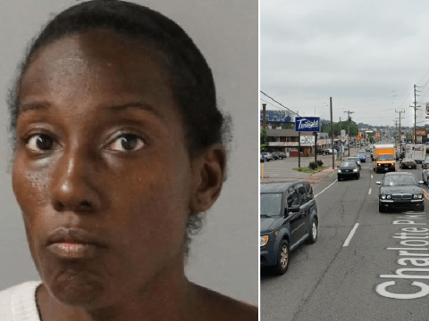 Woman told police she walked naked down busy road 'because it's hot'