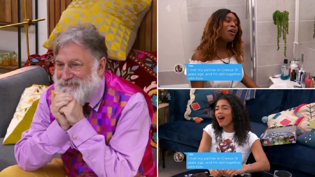 The Circle's Tim comes out as gay to Georgina and Brooke and it's too pure