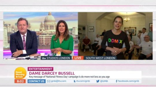 Good Morning Britain Darcey Bussell