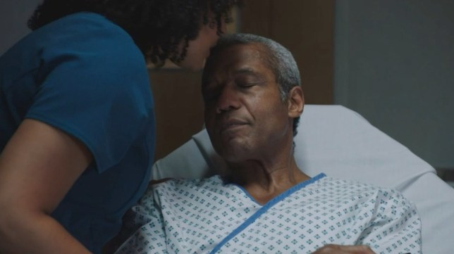 Ric faces his mortality in Holby City