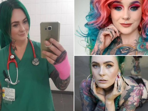 'World's most tattooed doctor' wants to break down the traditional stereotypes