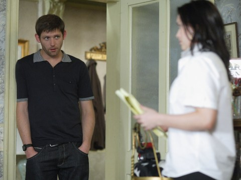 Who was Tony King in EastEnders as his son Leo arrives?