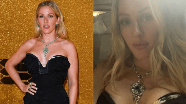 Ellie Goulding back from honeymoon and 'feeling like a million bucks' as she stuns at Bvlgari fashion party