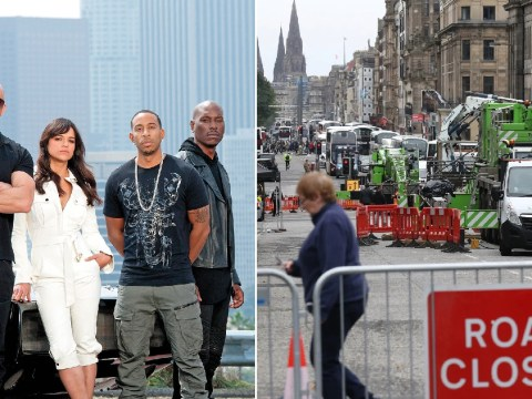 Fast & Furious 9 shuts down Edinburgh after high-speed chase along London's The Mall