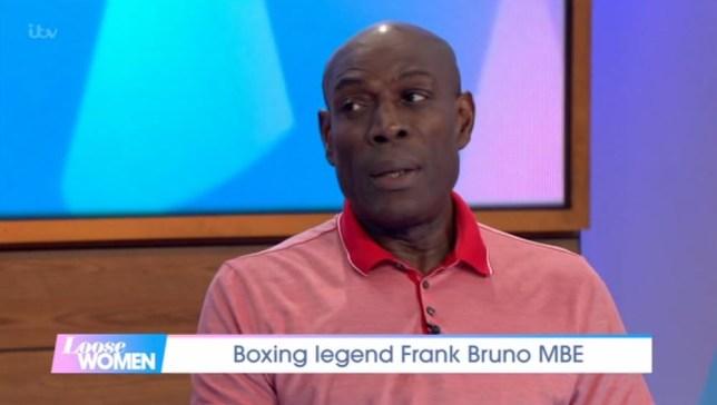 Frank Bruno on Loose Women