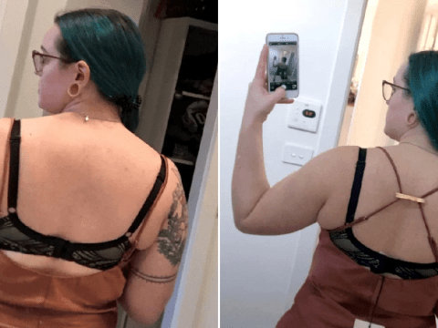 Woman's £3 hairclip hack transforms her dress from 'droopy' to a perfect fit
