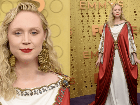 Emmys 2019: Game Of Thrones star Gwendoline Christie serves regal realness on purple carpet