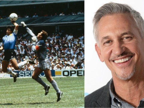 Gary Lineker would rather reverse Maradona's Hand of God than Brexit