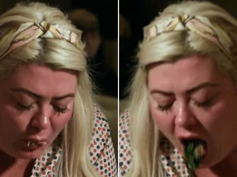 Gemma Collins branded 'disgusting' as she spits food out and compares it to dog poo at fancy restaurant