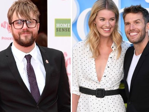 Love Island's Iain Stirling officiated Joel Dommett's wedding and imagine the lols