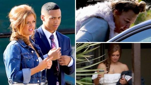 EastEnders Tiffany and Keegan wedding