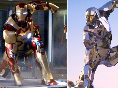 Robert Downey Jr's Avengers hero Iron Man memorialised with Italian statue
