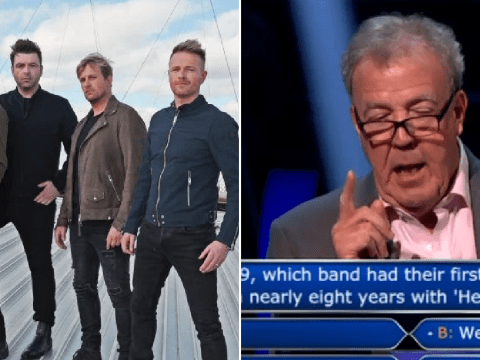Jeremy Clarkson 'proud' to not know answer to Westlife question on Who Wants To Be A Millionaire?