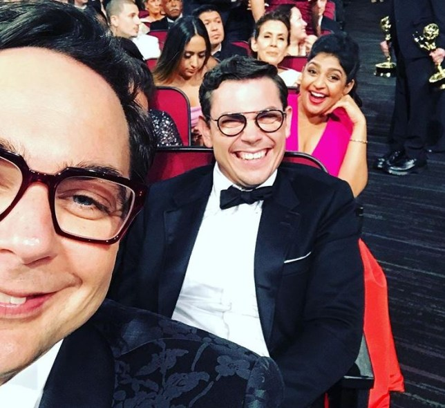 Jim Parsons at Emmy Awards 2019