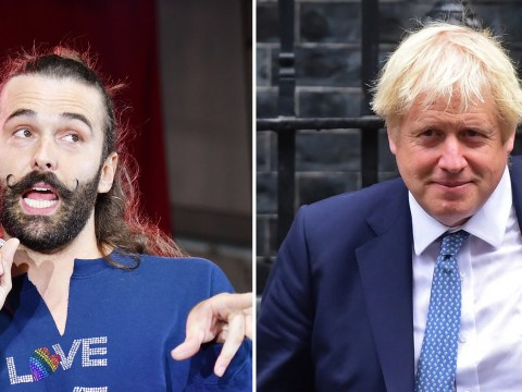 Queer Eye's Jonathan Van Ness knows exactly what he'd do to zhuzh up Boris Johnson's hair
