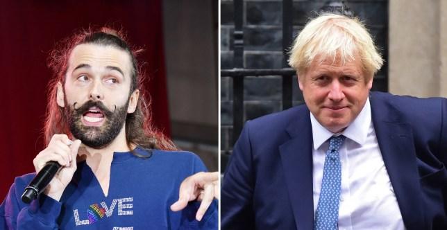 JVN and Boris Johnson