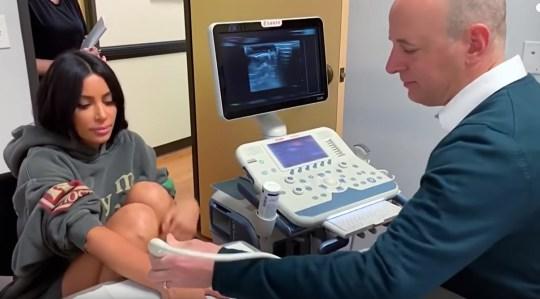 Kim Kardashian visits doctor on Keeping Up With the Kardashians