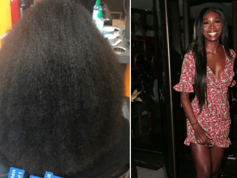 Love Island star Yewande Biala reveals her natural afro hair to silence critics: 'My black is beautiful'