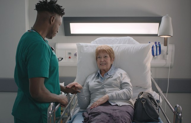 Casualty guest star Ruth Madoc