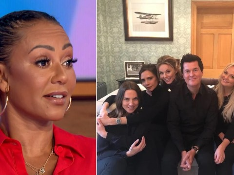 Spice Girls reunite once more – but Mel B refuses to say if Victoria Beckham was there