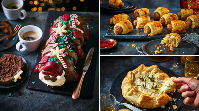 M&S Christmas food - Christmas Colin the Caterpillar, vegan pigs in duvets and the brie en croute