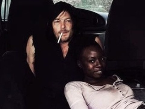 The Walking Dead's Norman Reedus gets nostalgic with throwback pictures of Danai Gurira