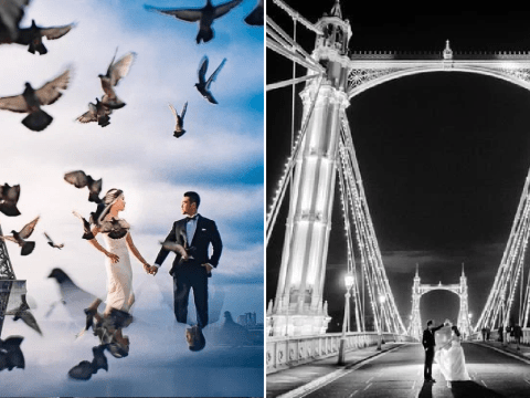 Couples are paying £50K for wedding photoshoots even though they're not married