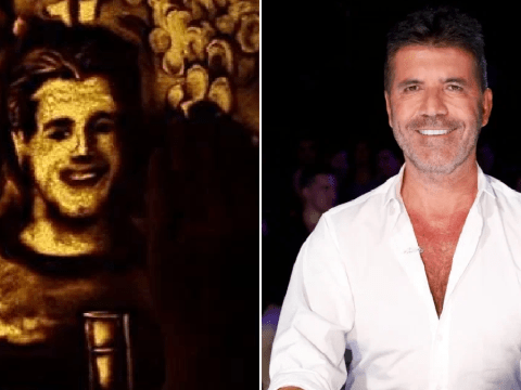Britain's Got Talent artist makes Simon Cowell and judges out of sand in mind-blowing video