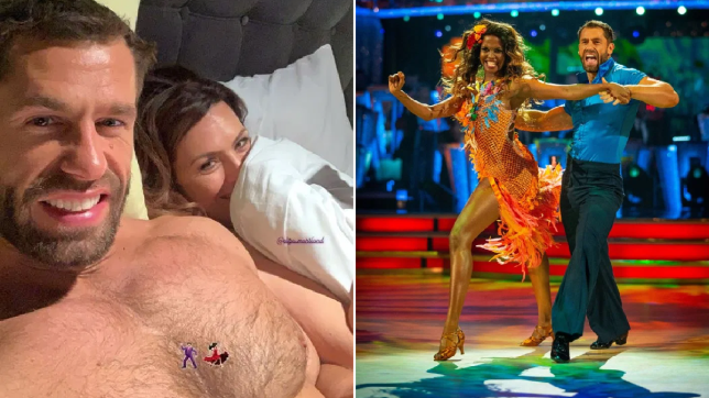 Strictly's Kelvin Fletcher topless snap