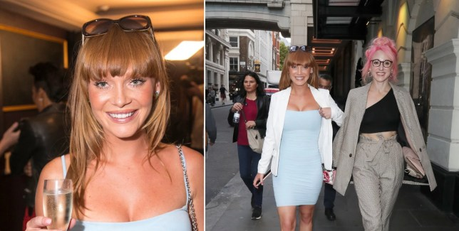 Paul WHO-llywood? Summer Monteys-Fullam enjoys the single life on night out with pals