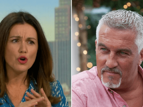 Susanna Reid unimpressed by Paul Hollywood's organ innuendo on Great British Bake Off