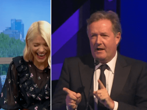 Holly Willoughby and Phillip Schofield break silence on Piers Morgan's furious rant after This Morning win TV Choice Award
