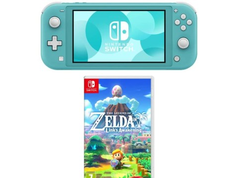 Get Zelda: Link's Awakening for free when you buy a Switch Lite