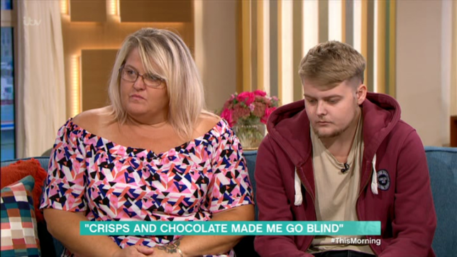 Teenager goes blind after only eating crisps and chocolate for 16 years as he gags at other foods