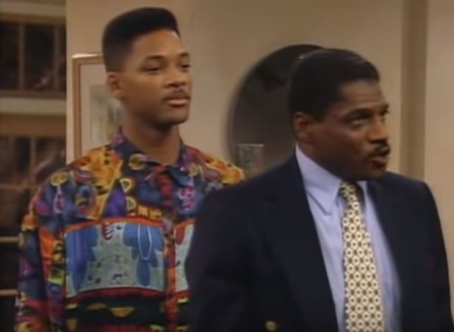 John Wesley in Fresh Prince of Bel Air