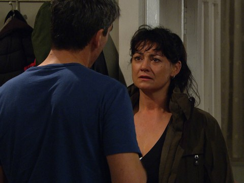 Emmerdale spoilers: Moira Dingle catches Cain in bed with Kerry Wyatt tonight
