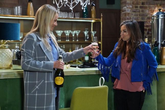 Ruby and Mel in EastEnders