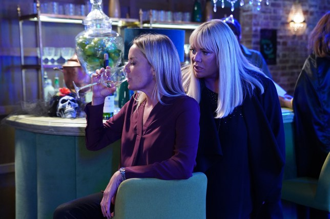 Sharon and Mel clash in EastEnders