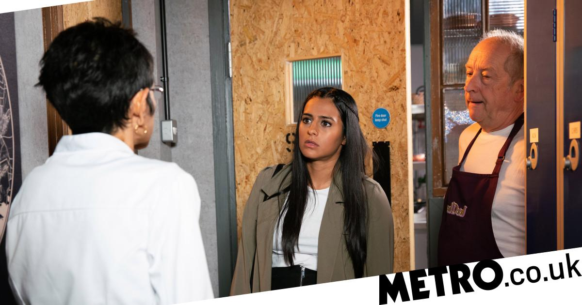 Spoilers: Alya learns of Yasmeen's terror as she confronts Geoff in Corrie?