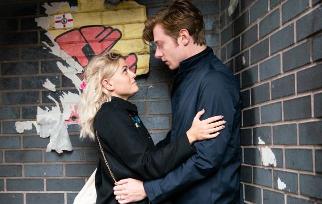 Daniel and Bethany in Coronation Street