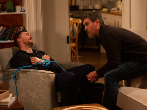Emmerdale spoilers: Murderous Cain Dingle takes Pete Barton hostage over Moira tonight