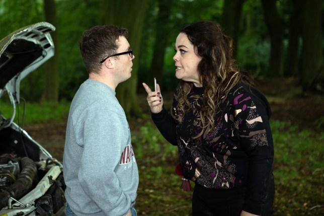 Vinny and Mandy Dingle in Emmerdale