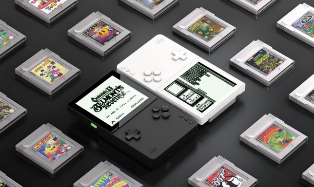 Analogue Pocket retro handheld console plays almost any portable game