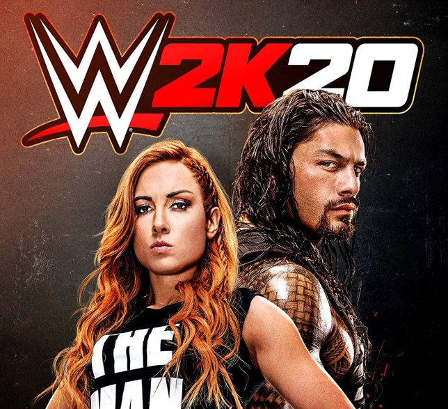WWE 2K20 key art
