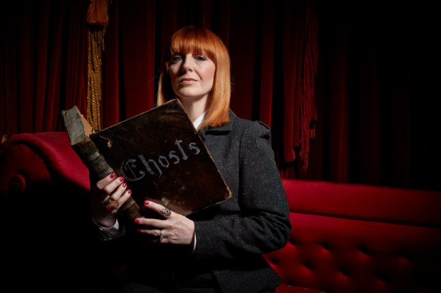 Television Programme: Most Haunted with Yvette Fielding