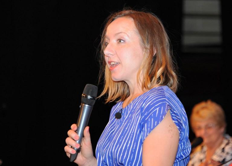 Anna Speaking