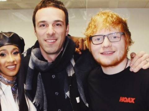 Ed Sheeran's record label boss steps down over 'offensive' Run DMC costume