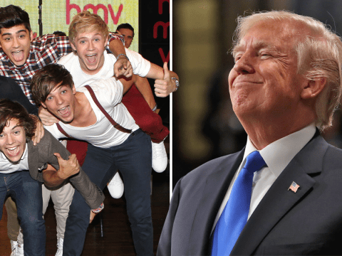 One Direction had a really weird encounter with Donald Trump: 'He woke us up!'