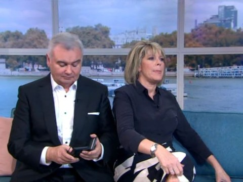Eamonn Holmes caught checking phone during Shalamar performance live on air